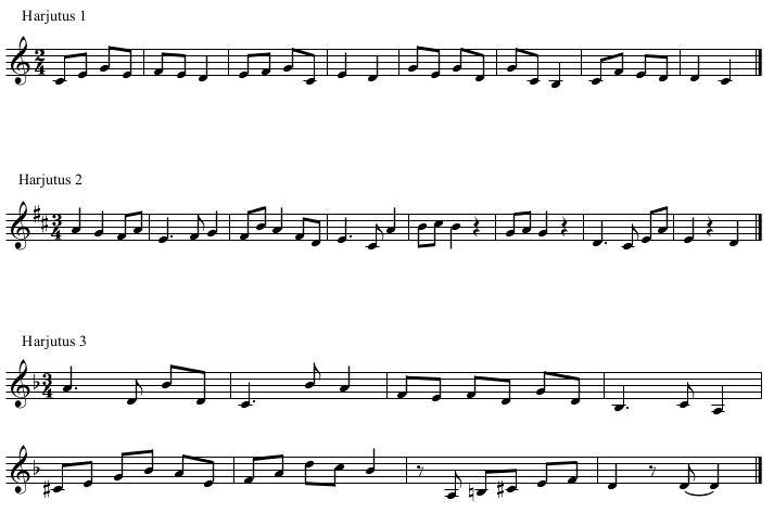 Noodistlaulmine näidis